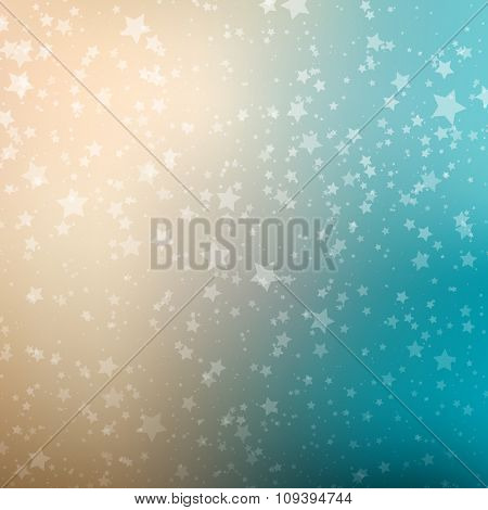 Falling Snow Background. Abstract Snowflake Pattern. Vector Illustration.