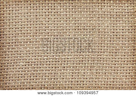 Close Up Photo Of Natural Linen, Texture Or Background
