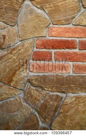 Seamless Stone And Brick Wall