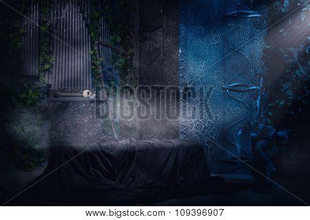 Gothic Tomb.