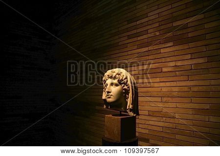 Veiled Head Of Colony Deity, Merida