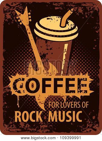 Coffee Lovers Of Rock Music