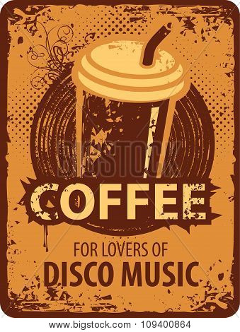 Coffee For Lovers Of Disco Music