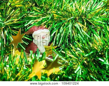 Santa Claus  , Decoration Merry Christmas & Happy New Year, Select Focus Style