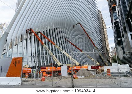 Wing By Calatrava Construction Of New York