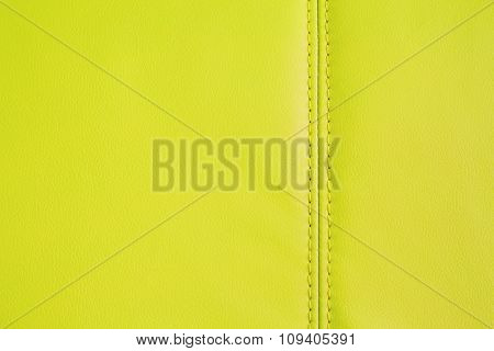 Background Texture Of Yellow Artificial Leather