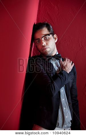 Attractive Young Male With Glasses