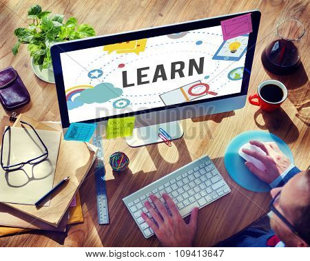 Learn Education Study Activity Knowledge Concept