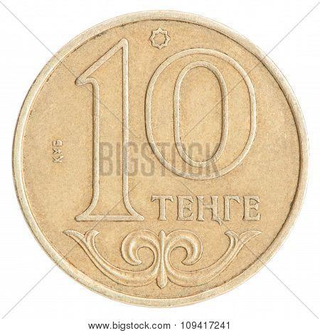 Kazakh Coin Tenge