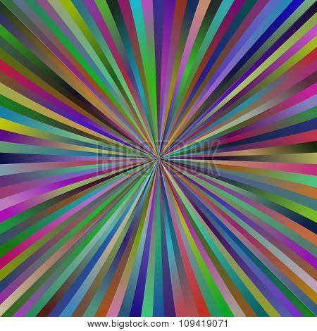 Multicolor abstract explosion design background