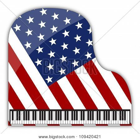 American Grand Piano