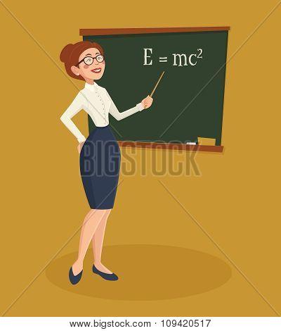 Teacher Woman Illustration