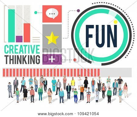Fun Happiness Enjoyment Recreation Activity Concept