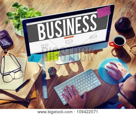 Business Financial Investment Opportunity Development Concept