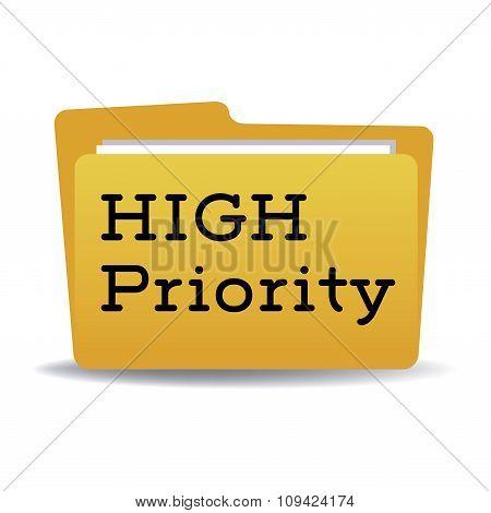 High priority folder