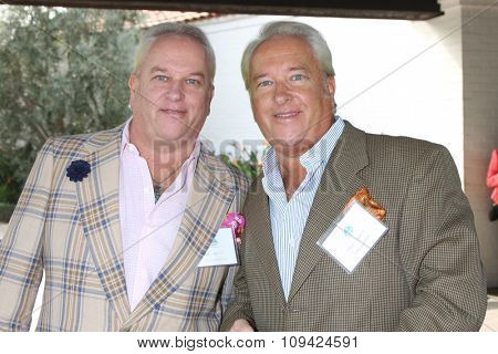 LOS ANGELES - NOV 10:  Matt Harris, Mark Harris at the Third Annual Celebrity Golf Classic to Benefit Melanoma Research Foundation at the Lakeside Golf Club on November 10, 2014 in Burbank, CA