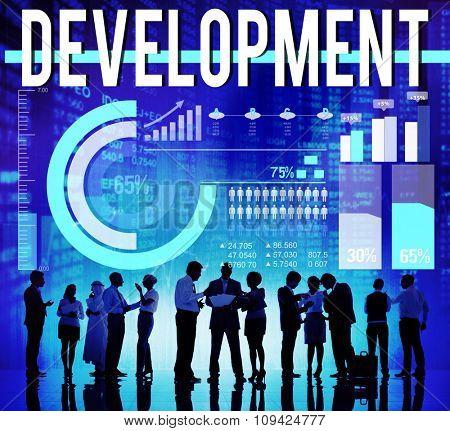 Development Improvement Growth Process Management Concept