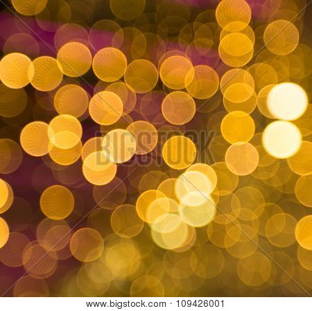 Abstract night bokeh background