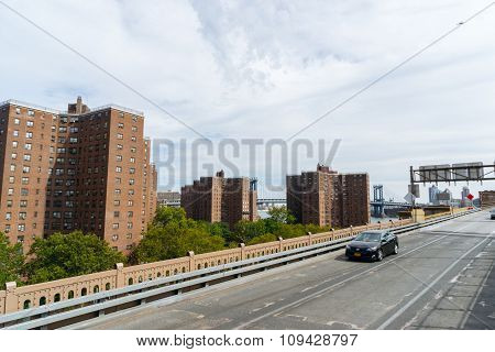 Condo Buildings In New York, Usa