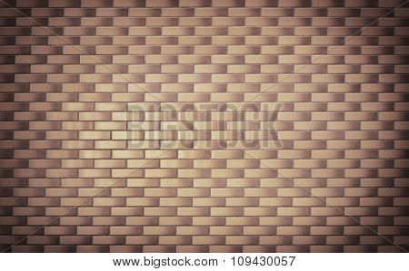 Brick grunge brown wall background