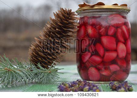 winter dainties on Christmas