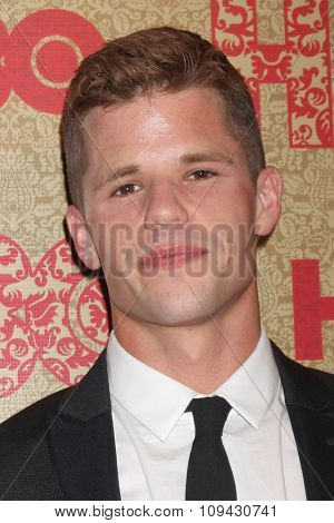 LOS ANGELES - JAN 12:  Charlie Carver at the HBO 2014 Golden Globe Party at the Beverly Hilton Hotel on January 12, 2014 in Beverly Hills, CA
