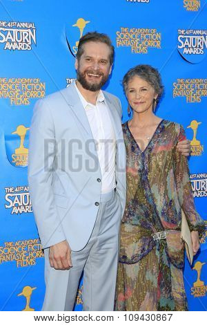 LOS ANGELES - JUN 25:  Bryan Fuller, Melissa McBride at the 41st Annual Saturn Awards Arrivals at the The Castaways on June 25, 2015 in Burbank, CA