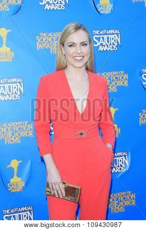 LOS ANGELES - JUN 25:  Amanda Schull at the 41st Annual Saturn Awards Arrivals at the The Castaways on June 25, 2015 in Burbank, CA