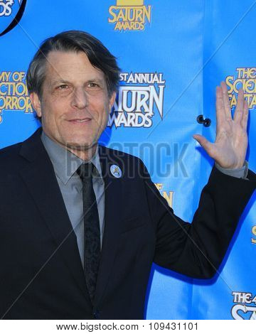 LOS ANGELES - JUN 25:  Adam Nimoy at the 41st Annual Saturn Awards Arrivals at the The Castaways on June 25, 2015 in Burbank, CA
