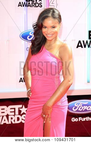 LOS ANGELES - JUN 29:  Joyful Drake at the 2014 BET Awards - Arrivals at the Nokia Theater at LA Live on June 29, 2014 in Los Angeles, CA