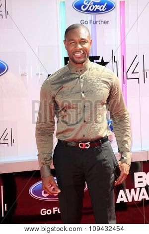 LOS ANGELES - JUN 29:  Tank at the 2014 BET Awards - Arrivals at the Nokia Theater at LA Live on June 29, 2014 in Los Angeles, CA