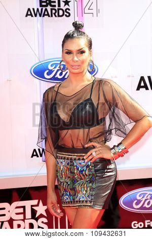 LOS ANGELES - JUN 29:  Laura Govan at the 2014 BET Awards - Arrivals at the Nokia Theater at LA Live on June 29, 2014 in Los Angeles, CA