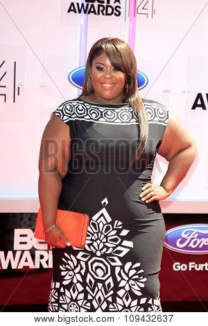 LOS ANGELES - JUN 29:  Raven Goodwin at the 2014 BET Awards - Arrivals at the Nokia Theater at LA Live on June 29, 2014 in Los Angeles, CA