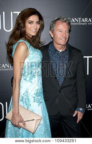 LOS ANGELES - NOV 17:  Blanca Blanco, John Savage at the