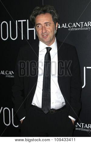 LOS ANGELES - NOV 17:  Paolo Sorrentino at the