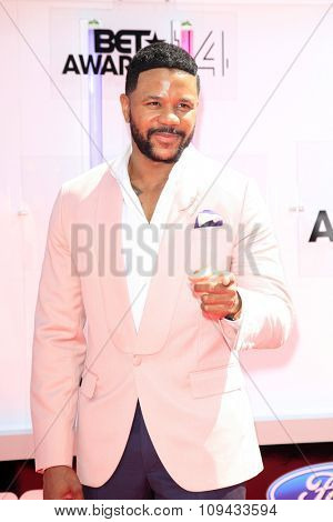 LOS ANGELES - JUN 29:  Hosea Chanchez at the 2014 BET Awards - Arrivals at the Nokia Theater at LA Live on June 29, 2014 in Los Angeles, CA