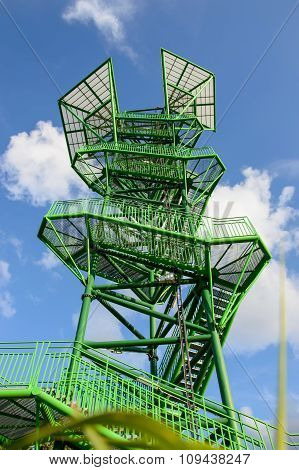 The observation tower, tourist attraction