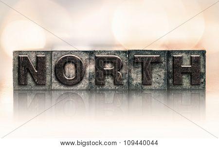 North Concept Vintage Letterpress Type
