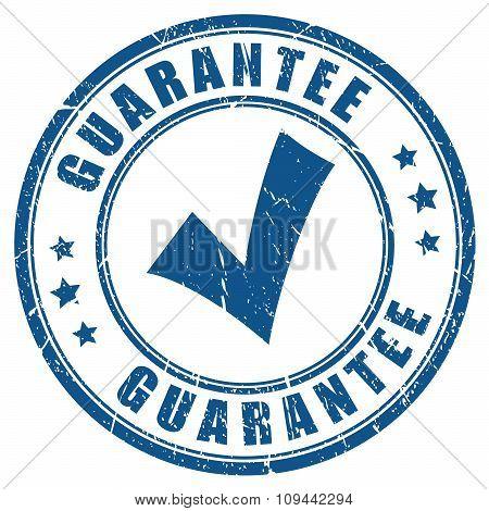 Guarantee tick stamp