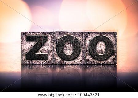 Zoo Concept Vintage Letterpress Type