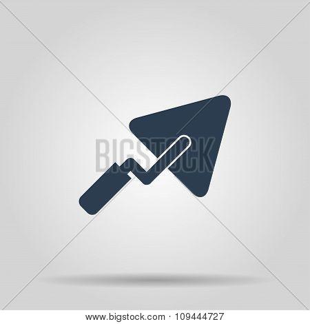Trowel Icon. Flat
