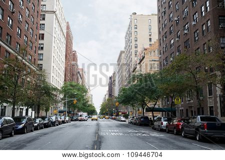 West End Avenue in New York City