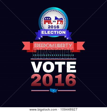 Freedom Liberty Presidential Election 2016