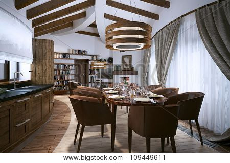 Studio Rustic Style