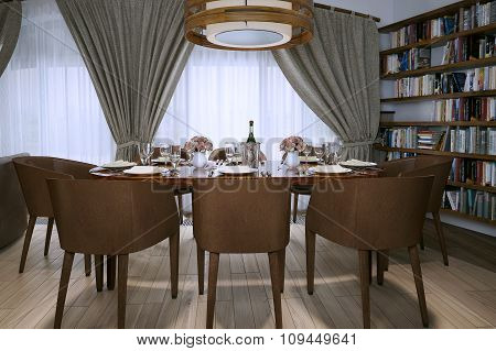Dining Room Loft Style