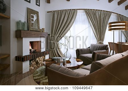 Living Room Loft Style