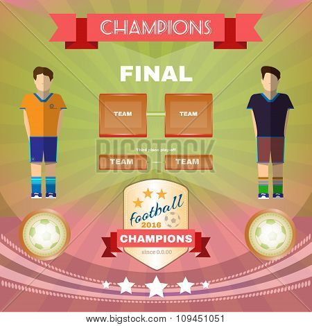 Soccer Game Champions Final
