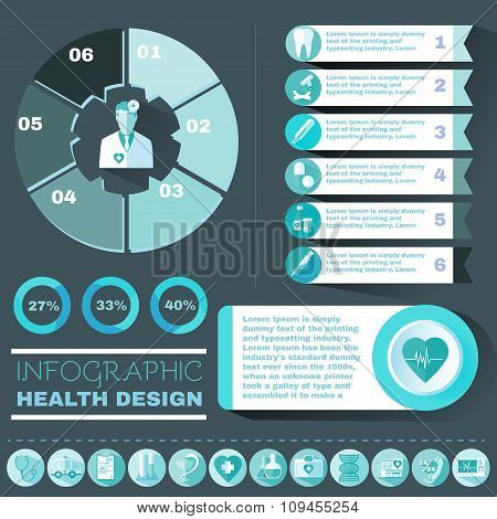 Healthcare Vector Infographic