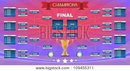 Football Champions Final Spreadsheet