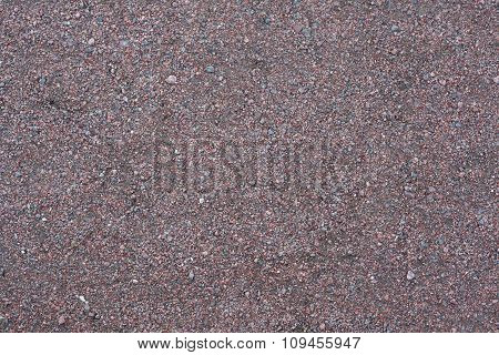 Pavement gravel